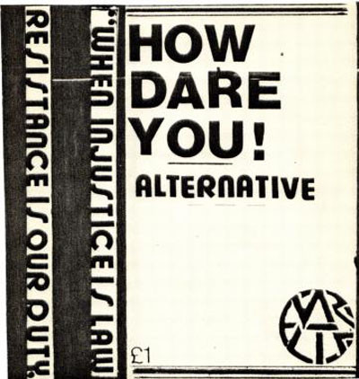 Alternative - How Dare You
