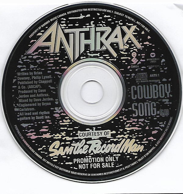 Anthrax - Cowboy Song