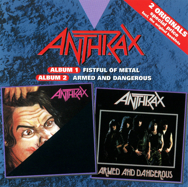 Anthrax - Fistful Of Metal / Armed And Dangerous