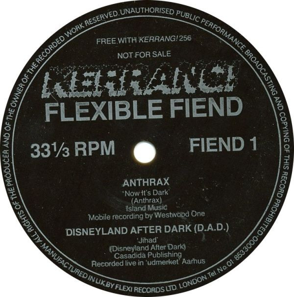 Anthrax - Kerrang! Flexible Fiend