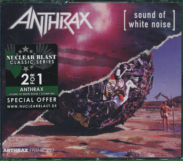 Anthrax - Sound Of White Noise / Stomp 442