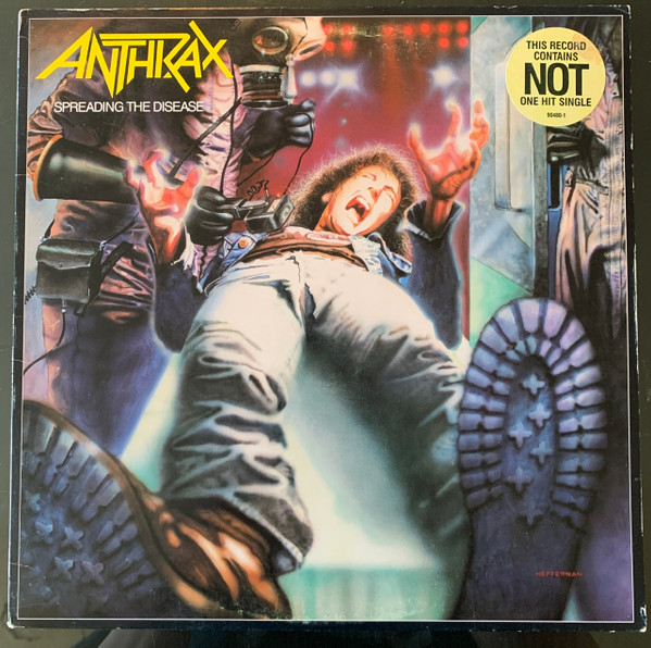 Anthrax - Spreading The Disease - Promo