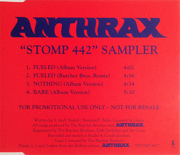 Anthrax - Stomp 442