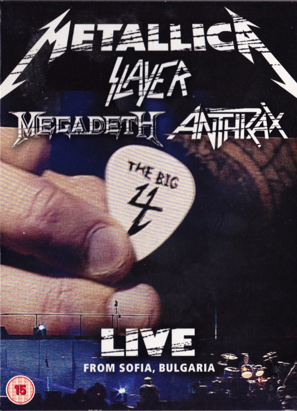 Anthrax - The Big 4: Live From Sofia, Bulgaria