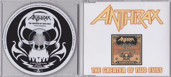 Anthrax - The Greater Of Two Evils - 3-Track Clubpromo