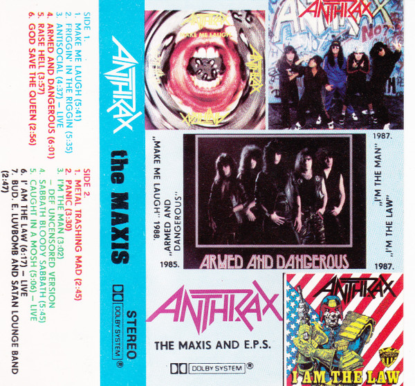 Anthrax - The Maxis And E.P.S.