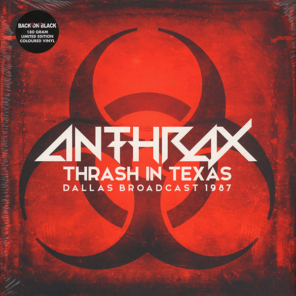 Anthrax - Thrash In Texas - Dallas Broadcast 1987