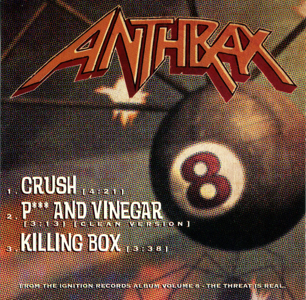 Anthrax - Volume 8 : The Threat Is Real