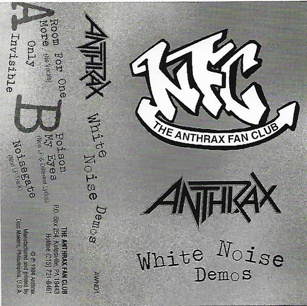 Anthrax - White Noise Demos