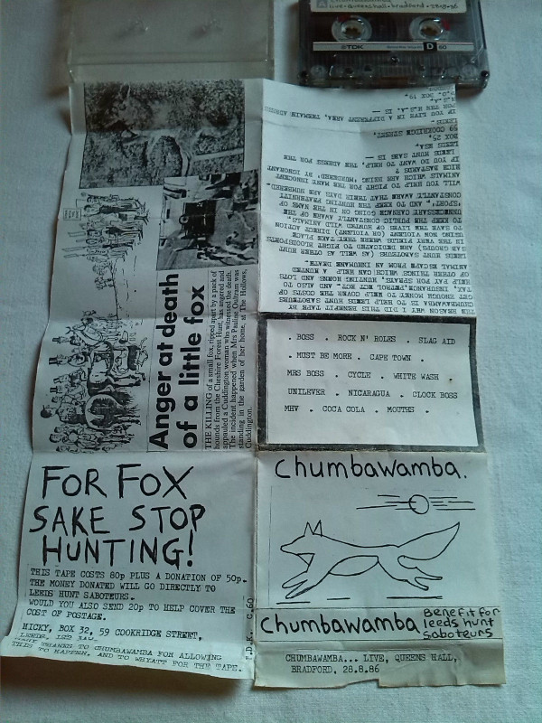 Anti chumbawamba Ep - Benefit For Leeds Hunt Saboteurs