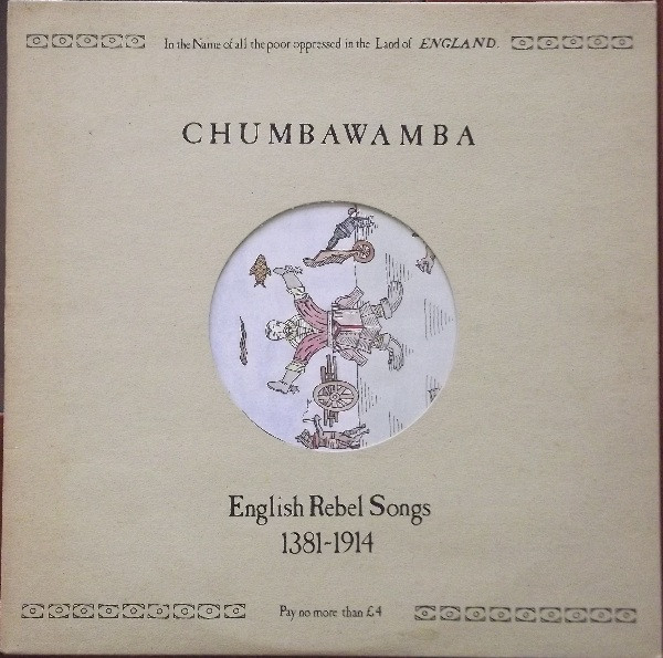 Anti chumbawamba Ep - English Rebel Songs 1381-1914