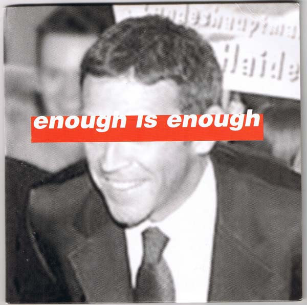 Anti chumbawamba Ep - Enough Is Enough (Kick It Over)