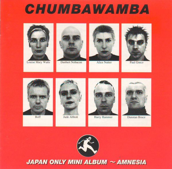 Anti chumbawamba Ep - Japan Only Mini-Album - Amnesia