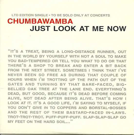Anti chumbawamba Ep - Just Look At Me Now