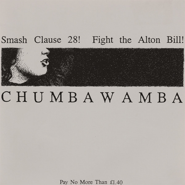 Anti chumbawamba Ep - Smash Clause 28! / Fight The Alton Bill!