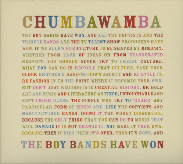 Anti chumbawamba Ep - The Boy Bands Have Won