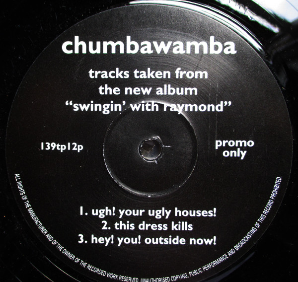 "Anti chumbawamba Ep - Tracks Taken From The New Album ""Swingin"