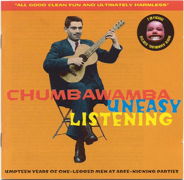 Anti chumbawamba Ep - Uneasy Listening & Tubthumper