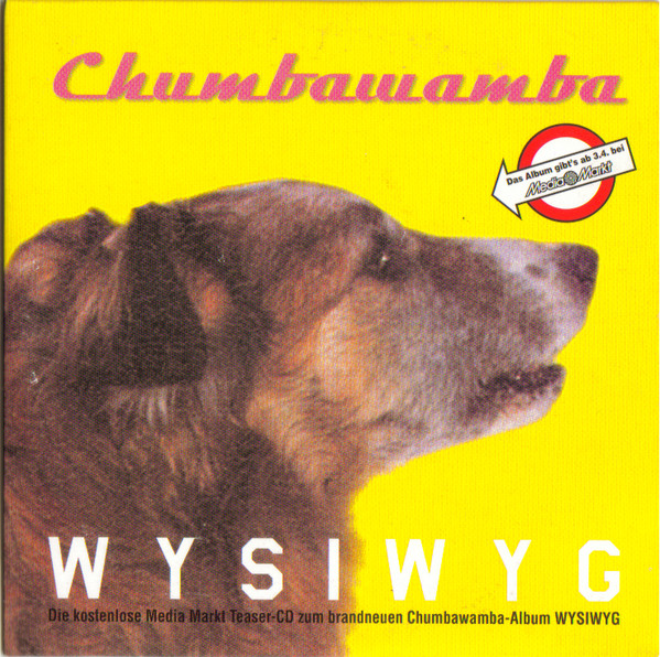 Anti chumbawamba Ep - WYSIWYG - Media Markt Teaser-CD
