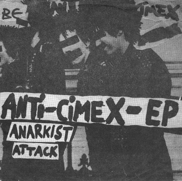 Anti cimex - Anti-Cimex-EP - Anarkist Attack