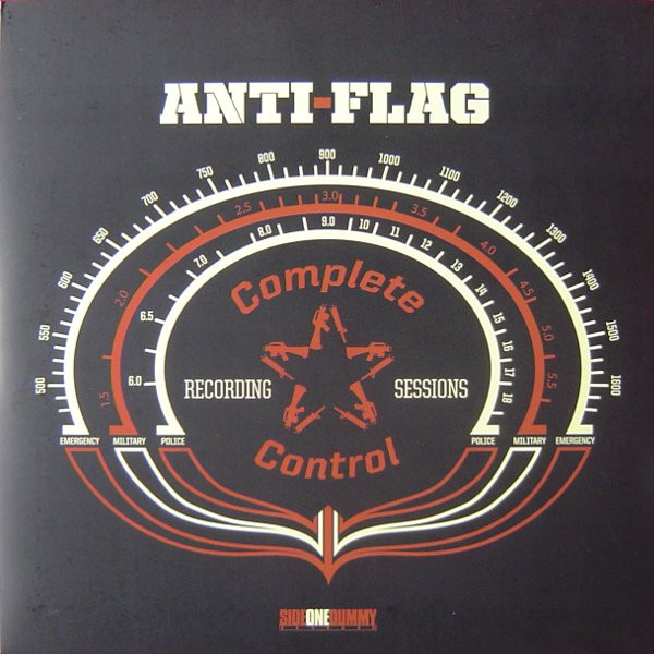 Anti flag - Complete Control Recording Sessions