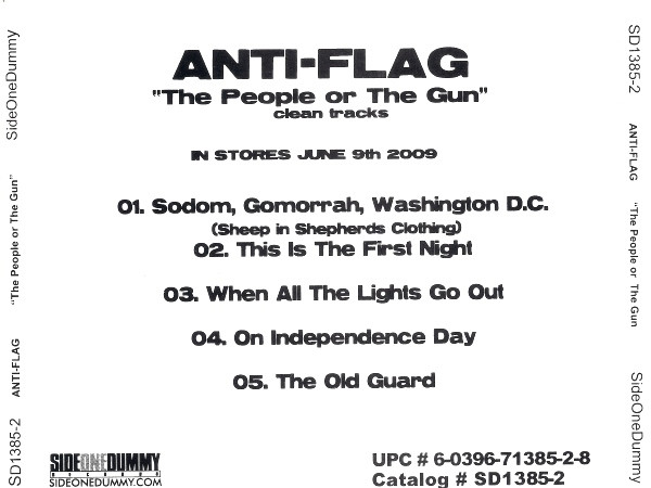 Anti flag - The People Or The Gun