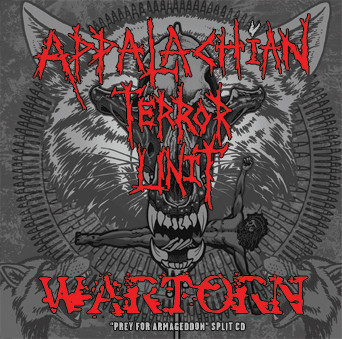 "Appalachian Terror Unit - ""Prey For Armageddon"" Split CD"