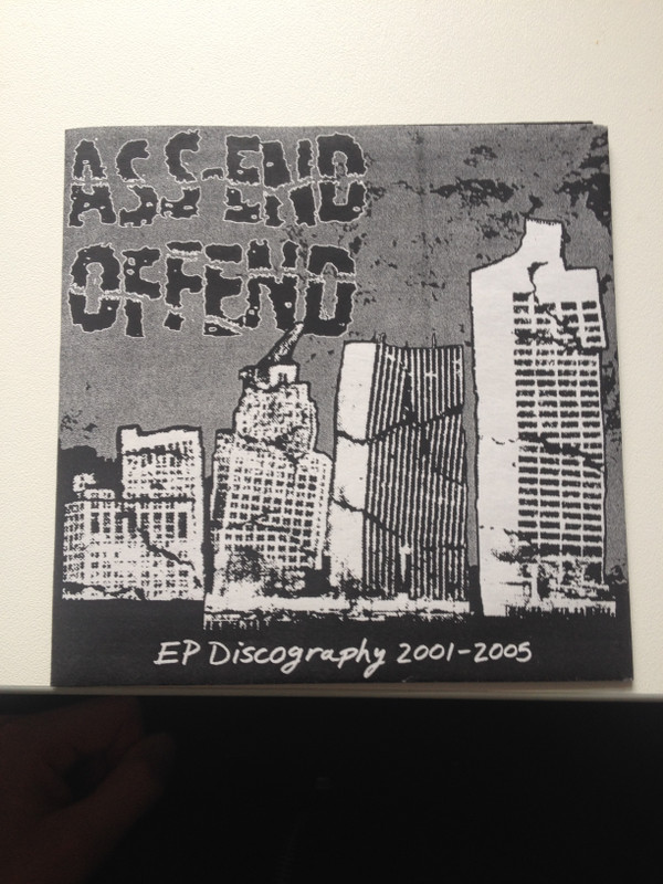 Ass end Offend - EP Discography 2001-2005