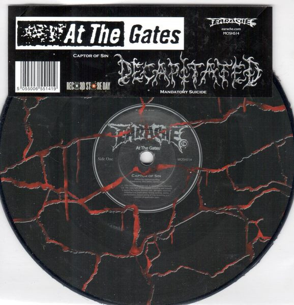 At The Gates - Captor Of Sin / Mandatory Suicide