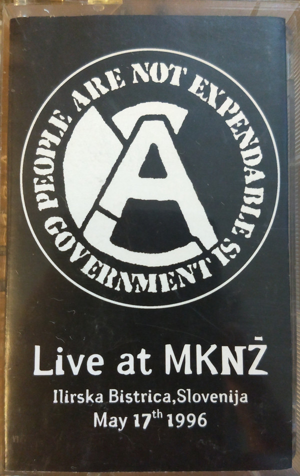Aus rotten - Live At MNKZ, Slovenija May 17th 1996
