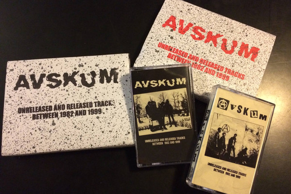 Avskum - Unreleased and released tracks between 1982 and 1999