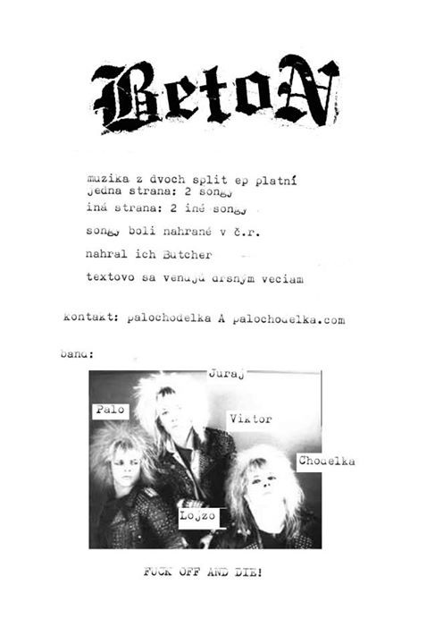 "Beton - Official Bootleg Double 1-Sided 7"" EPs"