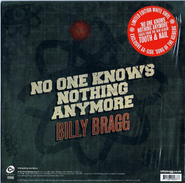 Billy Bragg - No One Knows Nothing Anymore