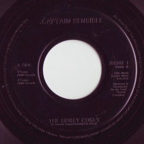 Captain Sensible - The Hokey Cokey / One Foot In The Grave