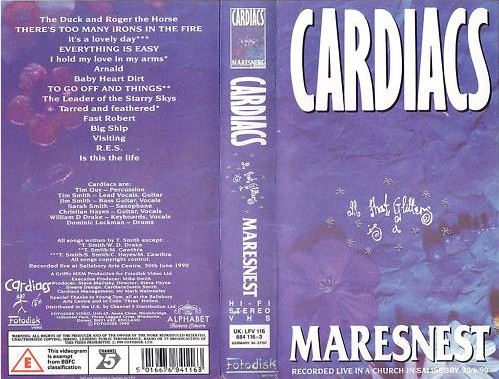 Cardiacs - All That Glitters Is A Maresnest