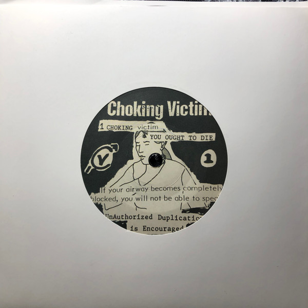 Choking Victim - Crack Rock Steady EP