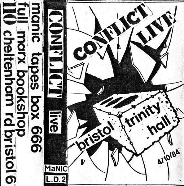 Conflict - Live Bristol Trinity Hall 4/10/84