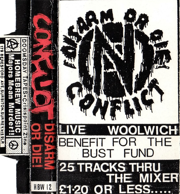 Conflict - Live Woolwich Poly October 17th 86