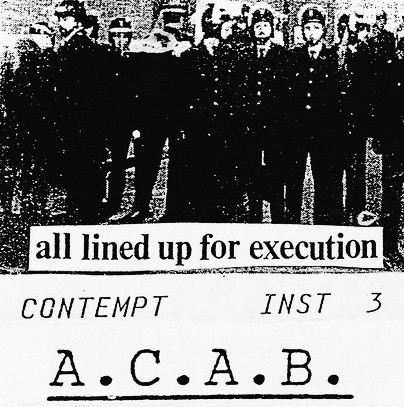 Contempt - All Lined Up For Execution