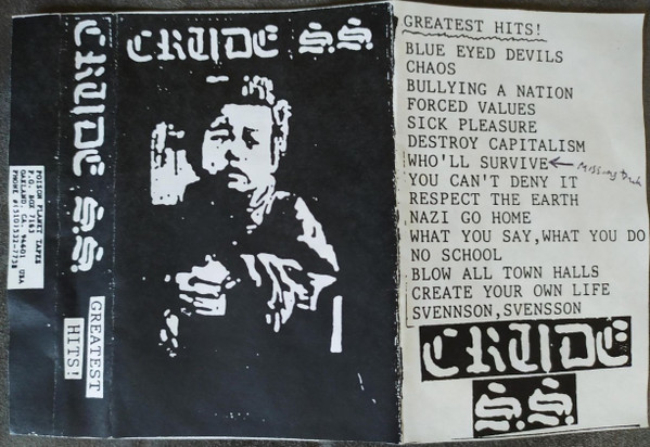 Crude Ss - Greatest Hits!
