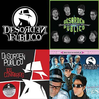 Desorden Publico - Pack 3 Cds