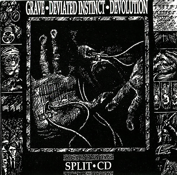 Deviated Instinct - Split CD