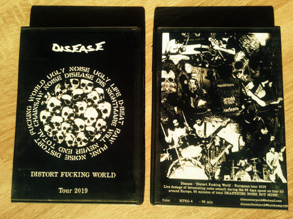 Disease - Distort Fucking World-Tour 2019