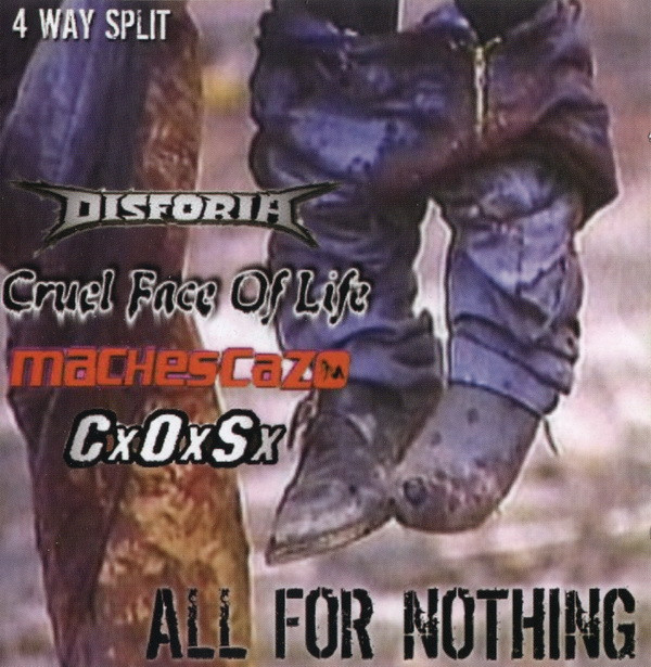 Disforia - All For Nothing 4-Way Split