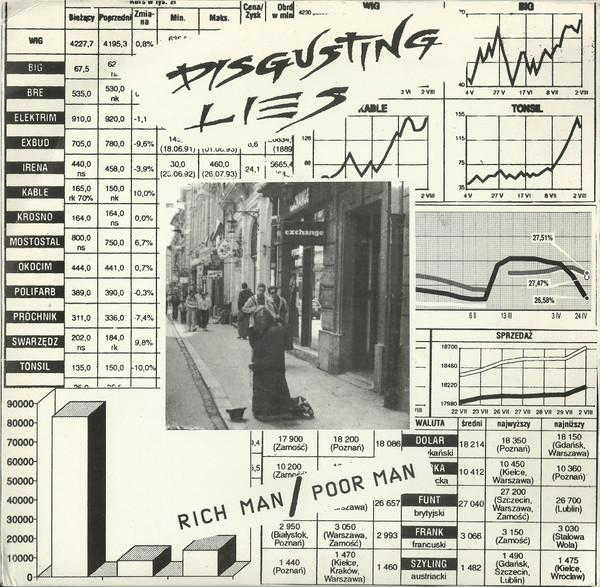 Disgusting Lies - Rich Man / Poor Man