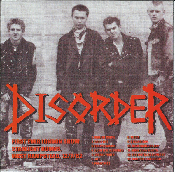 Disorder - Demo 1980 / Live 1982