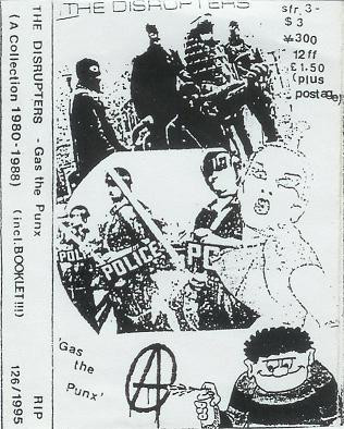 Disrupters - Gas The Punx (A Collection 1980-1988)