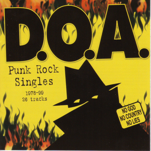 Doa - Punk Rock Singles: 1978-99