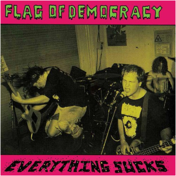Flag Of Democracy - Hate Rock (