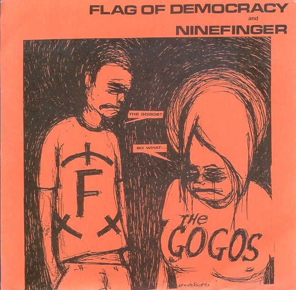 Flag Of Democracy - Head Over Heels / In The Black